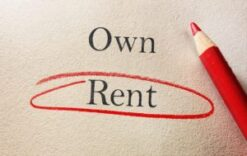 Rent a House during an IVA