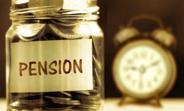 Pension at risk